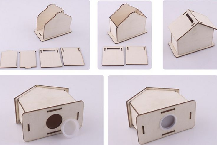 The 28 best images about flat pack charity collection for How to decorate a money box
