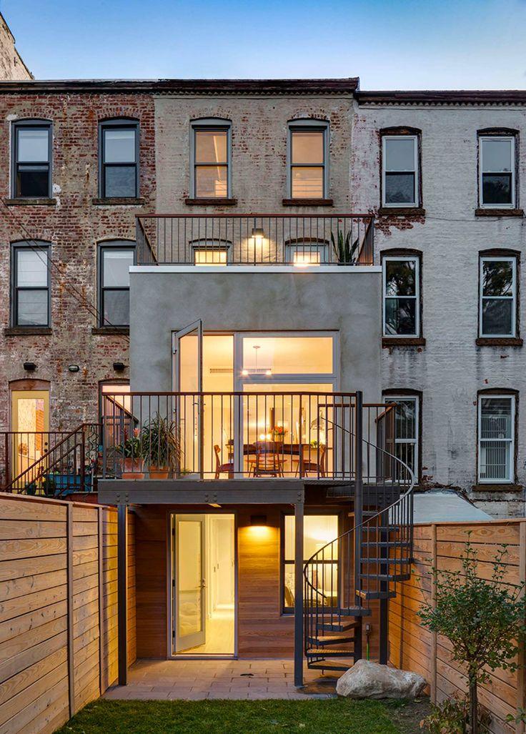 12 Foot Wide House By Barker Freeman Design Office