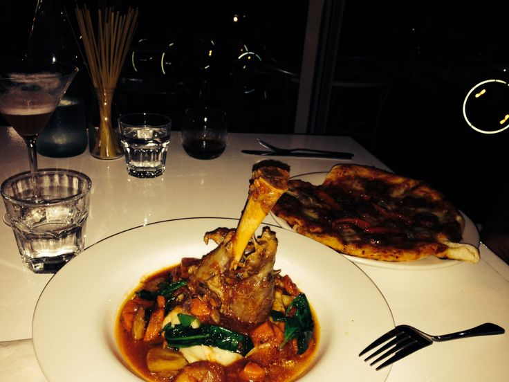Delicious lamb shank. The best Garlic pizza base I have ever devoured. Everything was full of flavour. Great service.