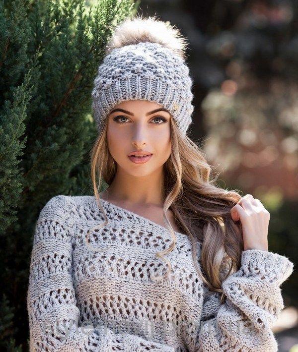 b8f25164a0ab Зимние шапки для женщин 2019-2020 года: фото, модели, тренды ...