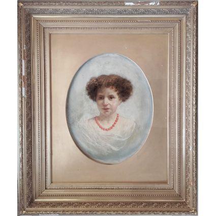 Etienne Billet (1821-1888), olja på pannå via Galleri Skott. Click on the image to see more!