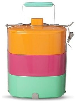 Oh Joy! Tiffin Box Meal Carrier contemporary-picnic-baskets