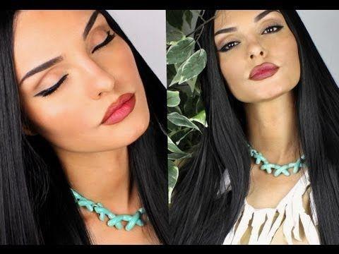 best 25 pocahontas makeup ideas on pinterest indian. Black Bedroom Furniture Sets. Home Design Ideas