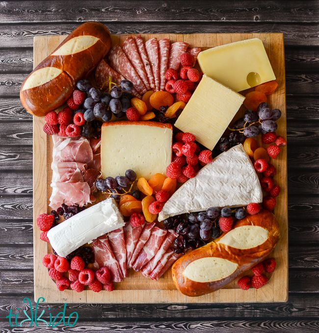 Tips for putting together a charcuterie board, great for game night or any entertaining.