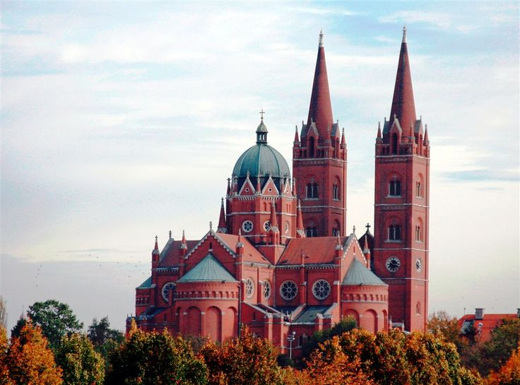 The St. Peters Cathedral, Đakovo, Croatia