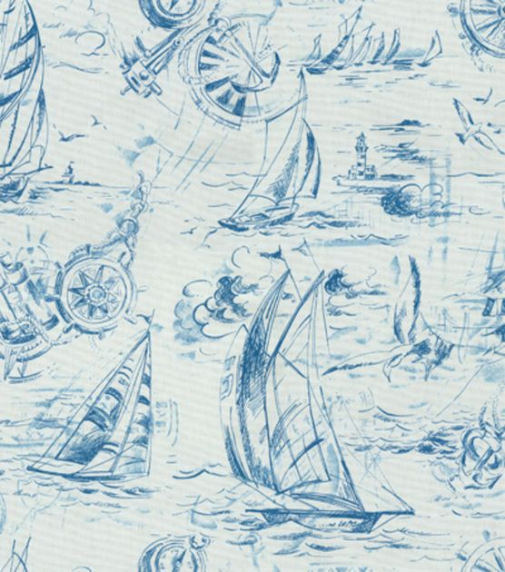 P/K Lifestyles Upholstery Fabric-Smooth Sailing