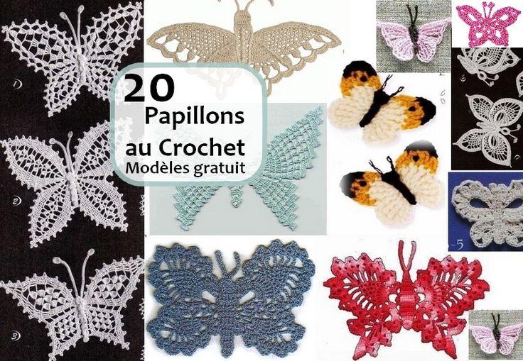 Adorables papillons colorés , avec ses grilles gratuites ! Toujours et à l'approche du printemps, nos vous propose des patrons et des modèles gratuits des papillons au crochet, vous trouverez beaucoup des modèles des papillons au crochet dans cet article. … Lire la suite... →