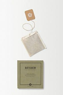 Lavender Bath Brew by Anthropologie #tea #bathroom #home #packaging