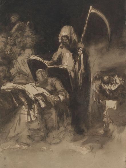 """"""" Pesadilla"""" ( Nightmare ) c.1816-20 by Francisco de Goya"""