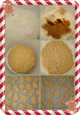 karamella: Χριστουγεννιάτικα μπισκότα κανέλας