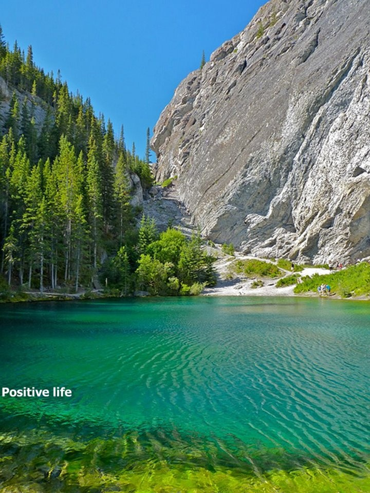 Grassi Lakes in canmore alberta canada