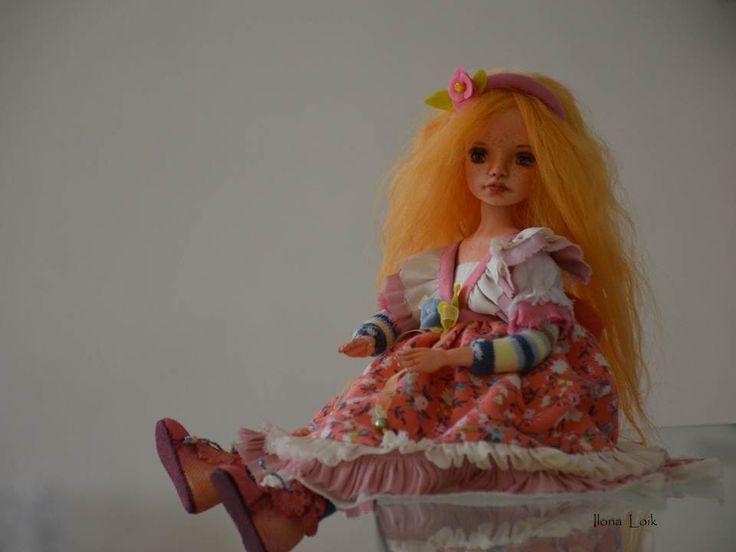 my dolls - my art авторские куклы илона лоик