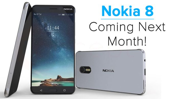 Nokia 8 With 23MP Camera, Snapdragon 835, 6GB RAM Coming Next Month!          T he reports from Pocketnow claims that along with Nokia 6,...