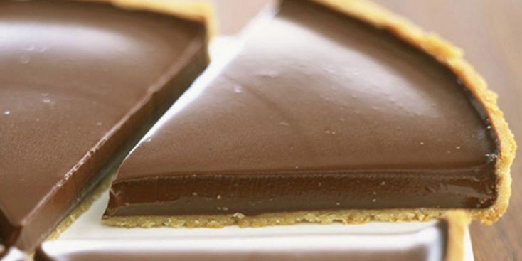 La recette de la tarte au chocolat de Frédéric Anton