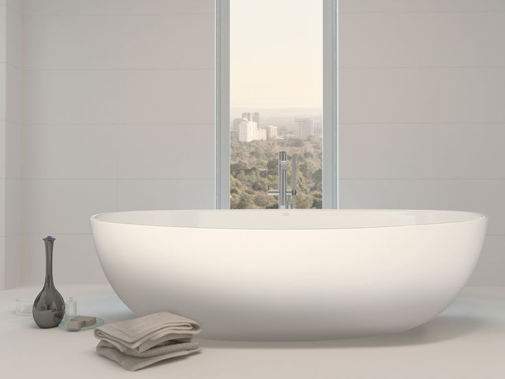 Our popular Interno Bath fits in almost any bathroom but still maintains the elegant beauty of a freestanding bath.