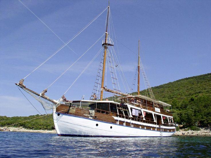 chorvatské plachetnice na dovolené v chorvatsku
