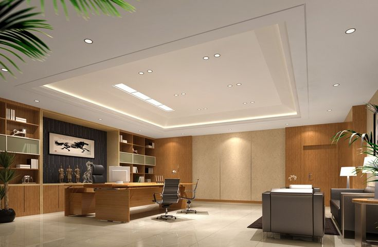 Modern ceo office interior designceo executive office with for New office design concept