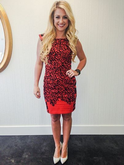 The STUNNING Natalie Langston wearing our blonde remy clip in extensions. Get yours at pacifichair.ca/collections