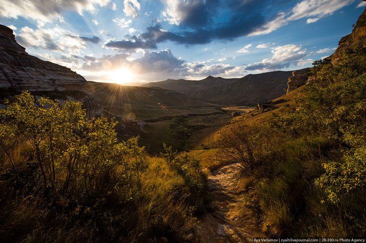 ЮАР, парк Золотые ворота