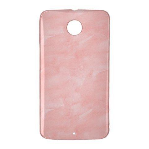 Pink Watercolor Google Nexus 6 Case Cover Wrap Around