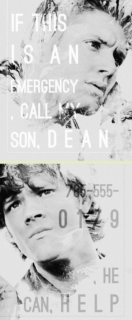 ''If this is an emergency, call my son, Dean. 785-555-0719. He can help.'' / 1.04 : Phantom Traveler