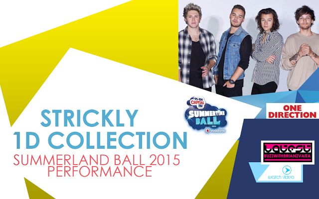 LATESTBUZZ WITH BRIAN ZVAITA: LBWBZ | STRICKLY 1 DIRECTION SUMMERTIME BALL PERFO...