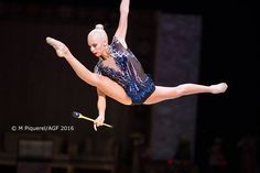 Yana Kudryavtseva (Russia) got 19.000 ! points for her clubs at Qualifications, Olympic Games 2016
