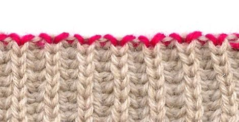 Knitting 3 Stitch I Cord Bind Off : Italian Bind Off - Kitchners Rib bind-off, Invisible bind-off and Vogue ...