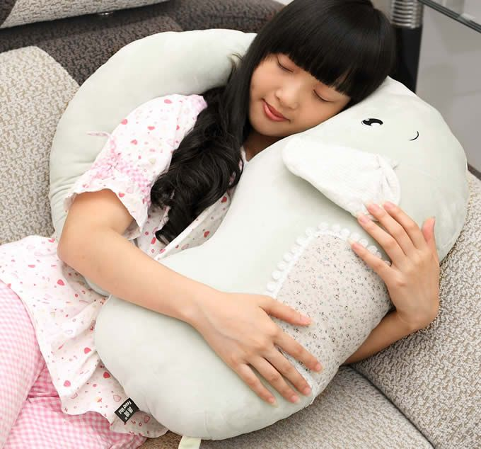 elephant sleeping pillow i want this for myself but i guess i can share baby ideas. Black Bedroom Furniture Sets. Home Design Ideas