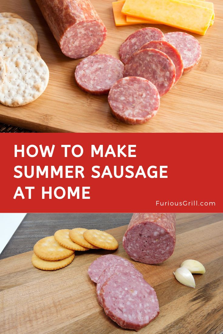 How to Make Summer Sausage - Homemade Recipe & Cooking ...