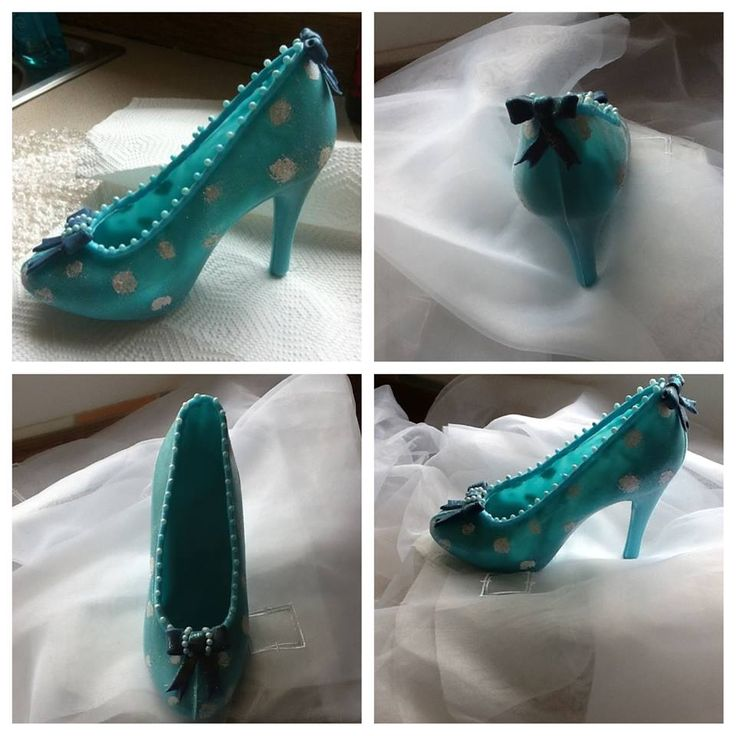 Hand made edible shoes