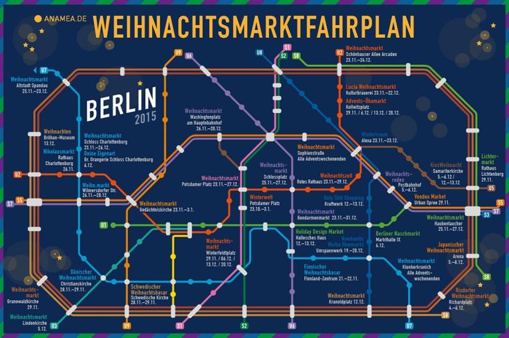 Christmas Market Roadmap Berlin