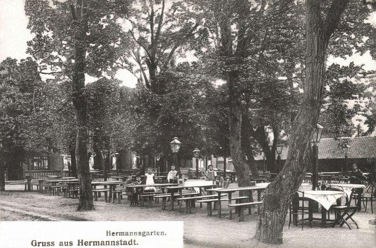 Nagyszeben:Hermann kert vendéglő,1906.