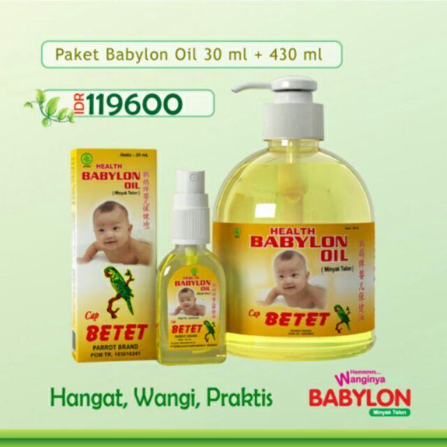 Temukan dan dapatkan Paket Babylon oil 30 ml + Babylon oil 430 ml hanya Rp 119.600 di Shopee sekarang juga! #ShopeeID