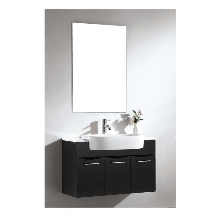 Brizendine Modern Contemporary Frameless Mirror Oversized Wall Mirrors Mirror Wall Bathroom Mirror Wall Bedroom