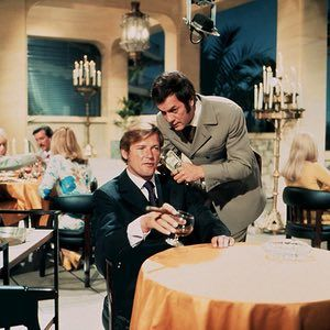 Roger Moore and Tony Curtis in The Persuaders! 1971