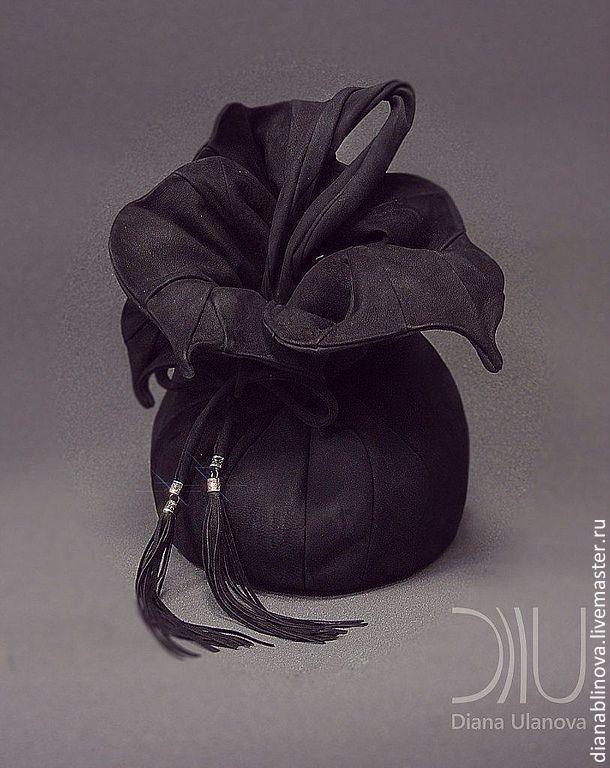 """Рюкзаки ручной работы. Ярмарка Мастеров - ручная работа Diana Ulanova - сумка кожаная """"Торба-Орхидея"""". Handmade."""