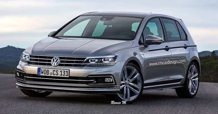 Facelifted 2017 VW Golf Said To Feature Gesture Control And Mild-Hybrid Powertrain #Reports #VW