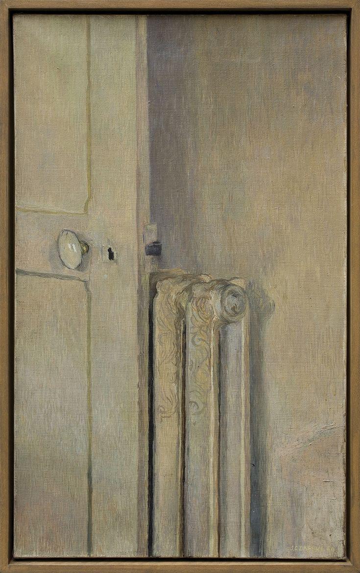 Józef Czapski (1896 - 1993) KALORYFER, 1960, olej, płótno 61 x 38 cm