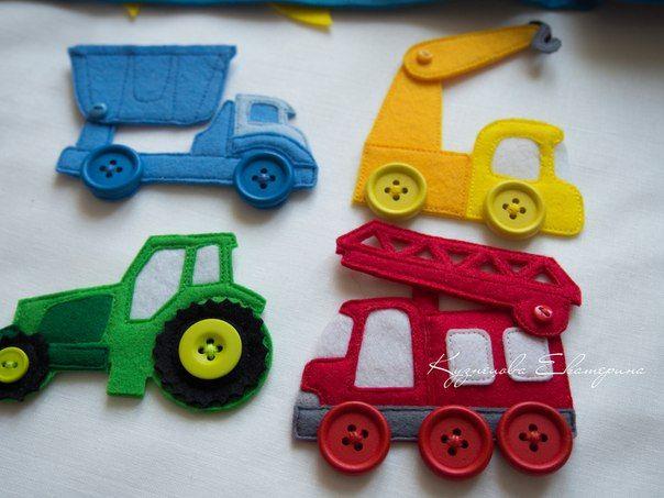 Фотографии Развивающие книжки и игрушки из фетра Toy Town