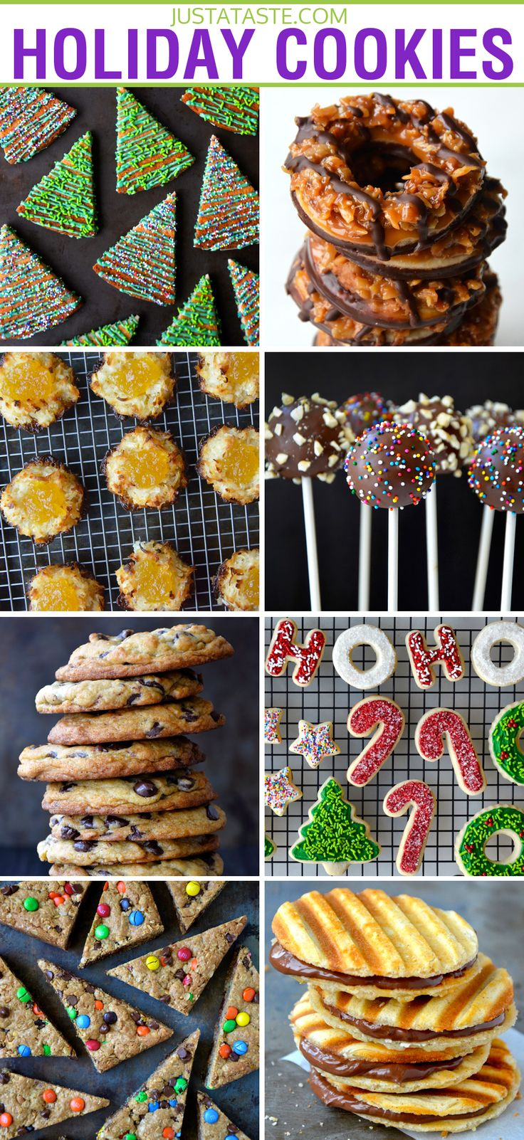 The Best Holiday Cookie Recipes from justataste.com #recipe #cookies