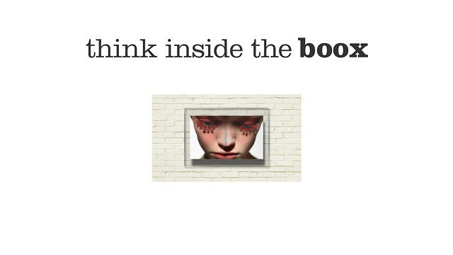 Think inside the Boox. Books and magazines enclose millions of amazing images and stories that tend to be forgotten somewhere in a shelf. We thought it was time to bring them out and that's why we created Boox, a box specially designed  to display those amazing pages as an expression of yourself.