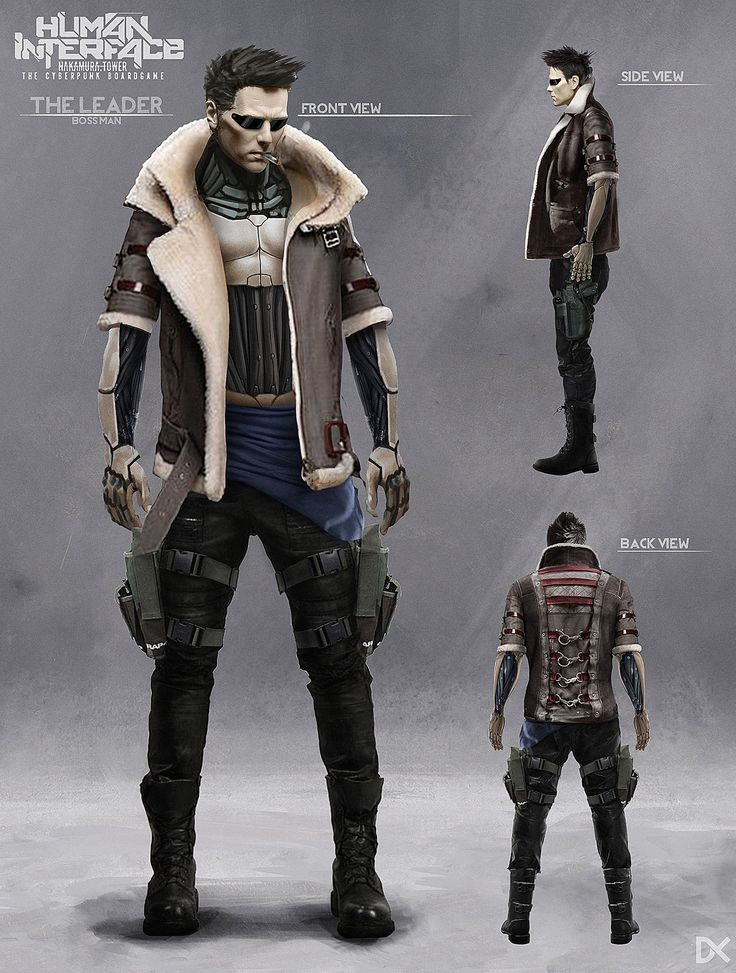 ArtStation - Human Interface - Character concept art ( Harvey Scott ), Darius Kalinauskas