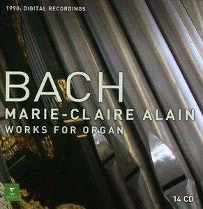 Manejate este ladrillo.  Marie-Claire Alain - Johann Sebastian Bach: Organ Works 14 CD Box Set (2011)
