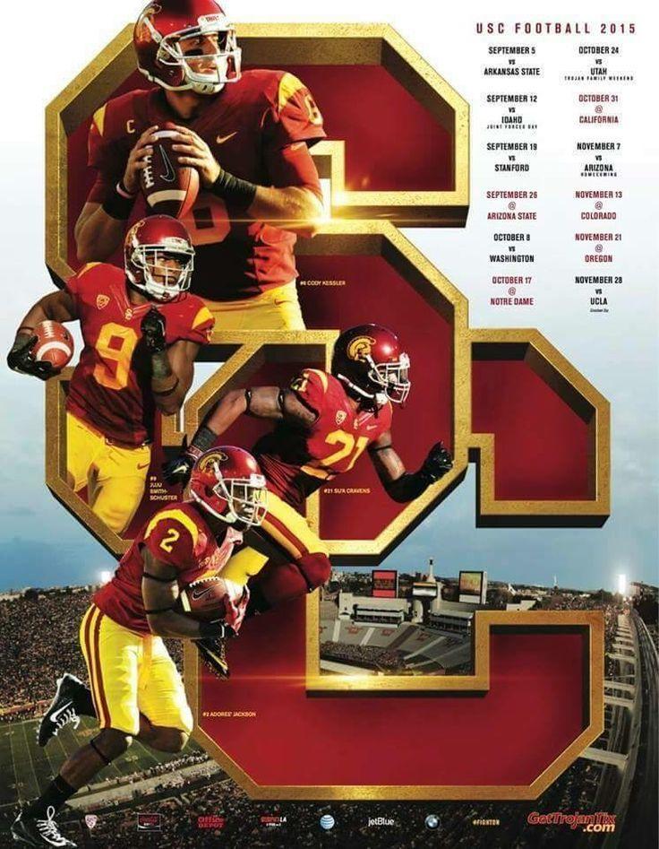 USC Trojans football calendar 2015 season