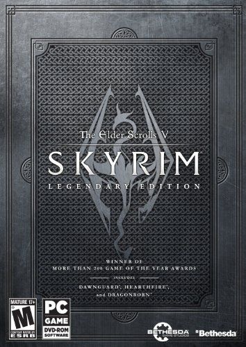The Elder Scrolls V: Skyrim Legendary Edition [Online Game Code], 2015 Amazon Top Rated Games #DigitalVideoGames