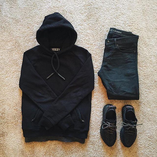 Yeezys black cheap dress
