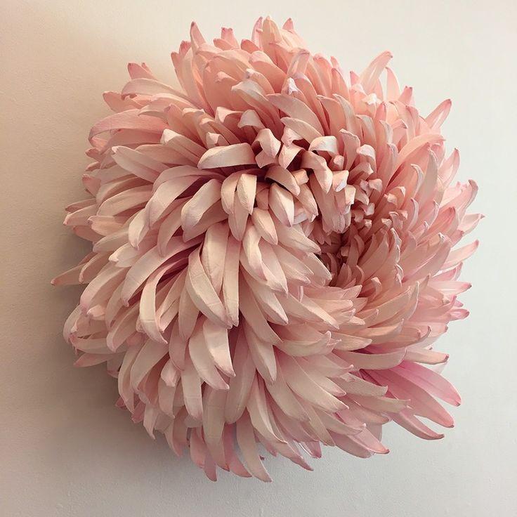Гигантские цветы из бумаги от американской художницы Tiffanie Turner - Ярмарка Мастеров - ручная работа, handmade