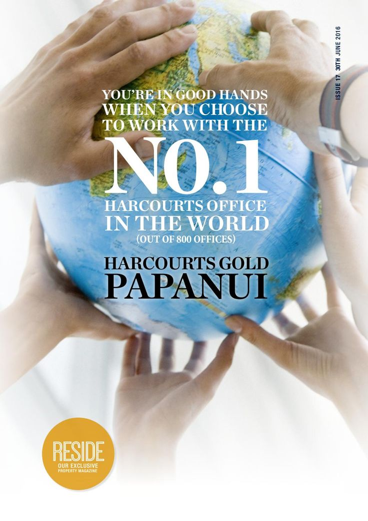 Harcourts Gold Reside magazine -  June 2016