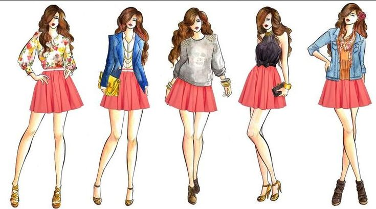 httpss media cache ak0pinimgcom736x10d6cf 1000 images about fashion design - Fashion Design Ideas